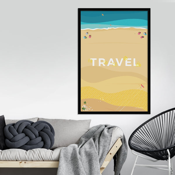 Travel Escape Framed Art