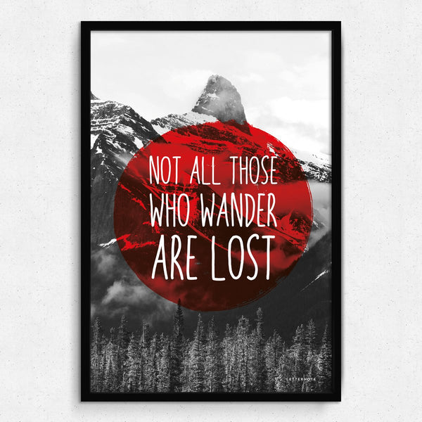 Wanderlust Framed Art