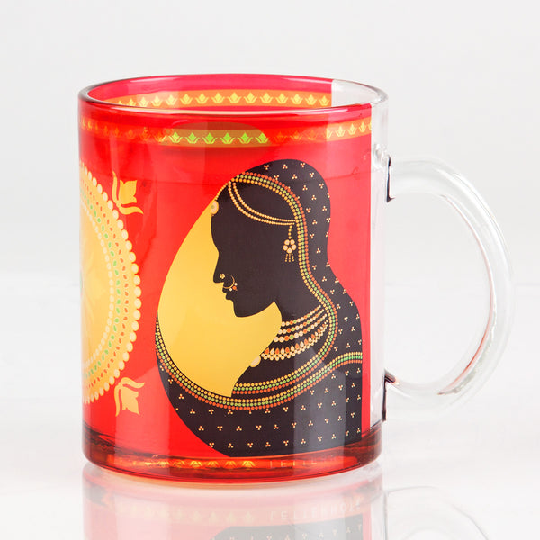 Rajput Transparent Mug