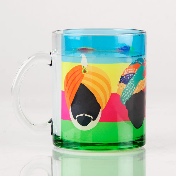Turban Transparent Mug