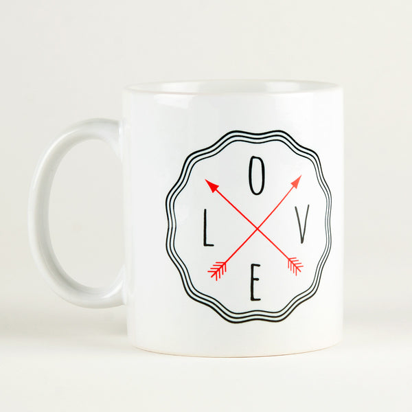 Love in All Direction Mug