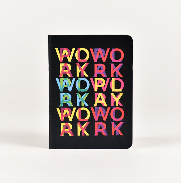 Work Play Pocket Notebook (A6 Size)