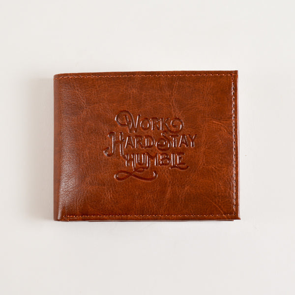 Work Hard Stay Humble Wallet