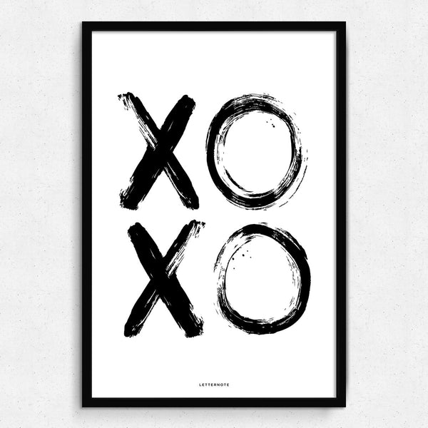 XO XO Framed Art