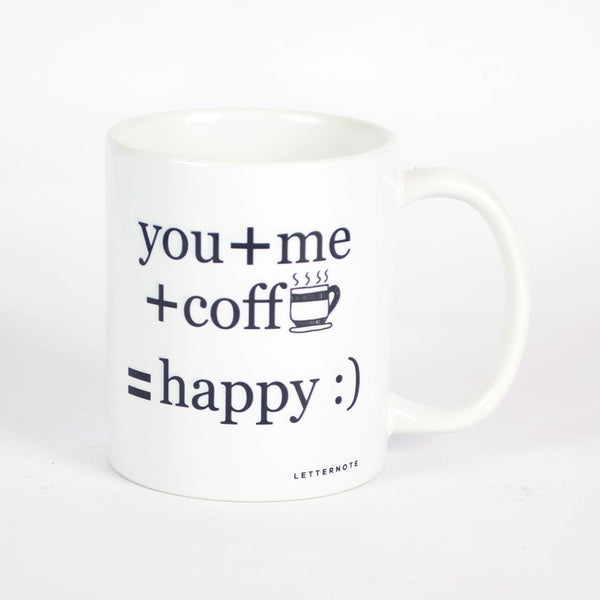 You Me Coffee Mug - LetterNote - 2