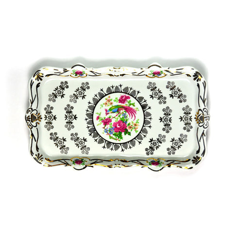 Porcelain Tray, White