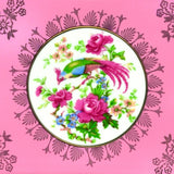 Porcelain Tray, Pink