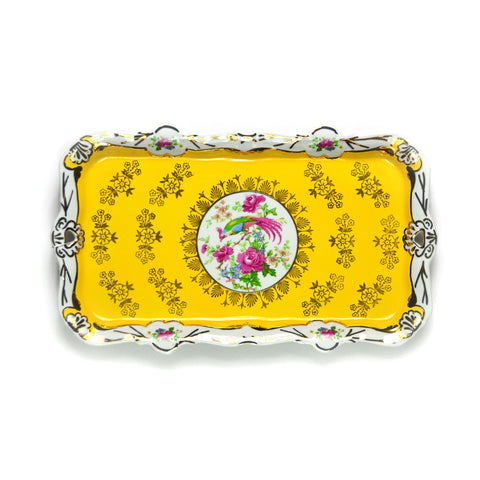Porcelain Tray, Yellow
