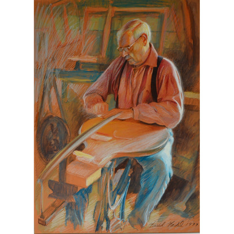 Man with Musical Instrument