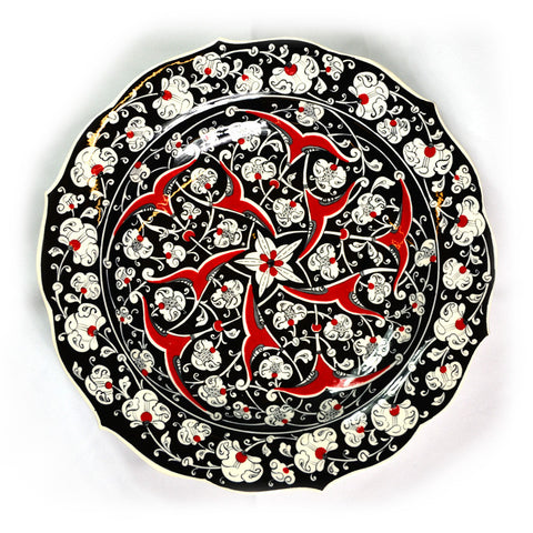 Handmade, Hand Painted Turkish Plate