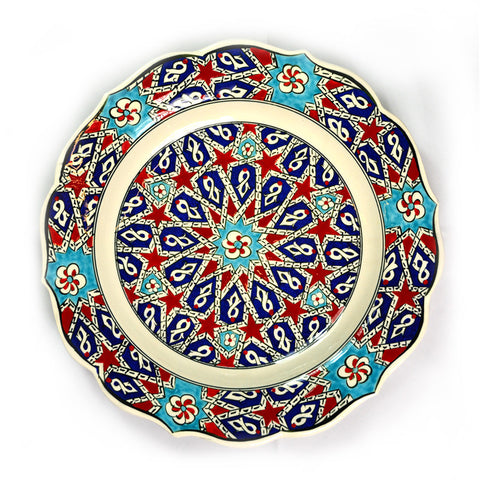 Hand-Painted Turkish Plate