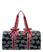 Houndstooth Duffle Bag
