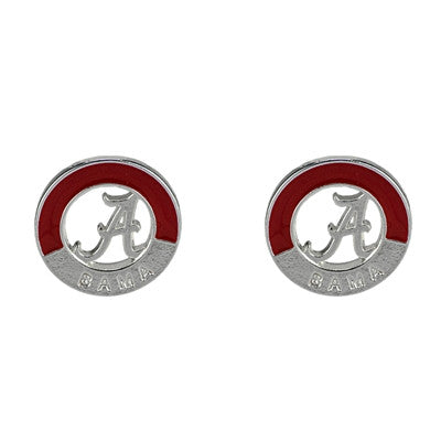 Two Tone Alabama Earring Set