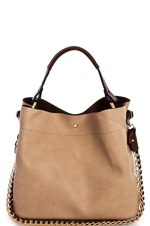 2 in 1 Soft Leather Bag