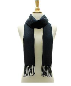 Fashion Cashmere Feel Blanket Scarf with Fringe