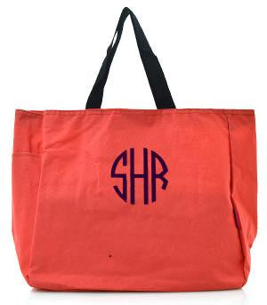 Solid Color Tote Bag