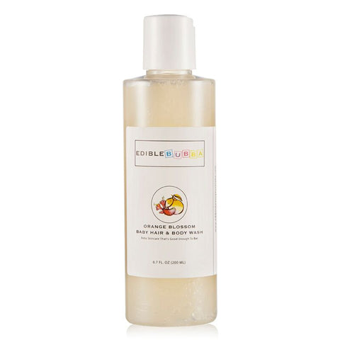 Orange Blossom Baby Hair & Body Wash-Edible Beauty Australia