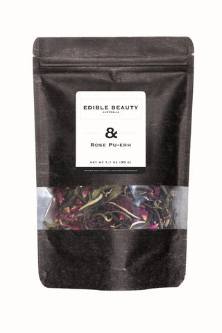 & Rose Pu-erh Refill (previously No.7 Slim Me)-Edible Beauty Australia