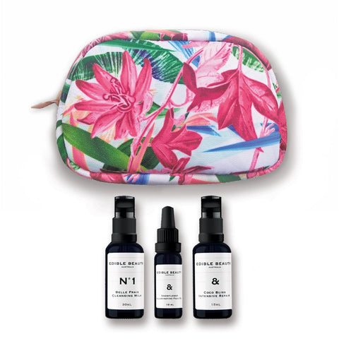 Ultra Hydration Kit - Mini Hydration Essentials in Cosmetic Bag-Edible Beauty Australia