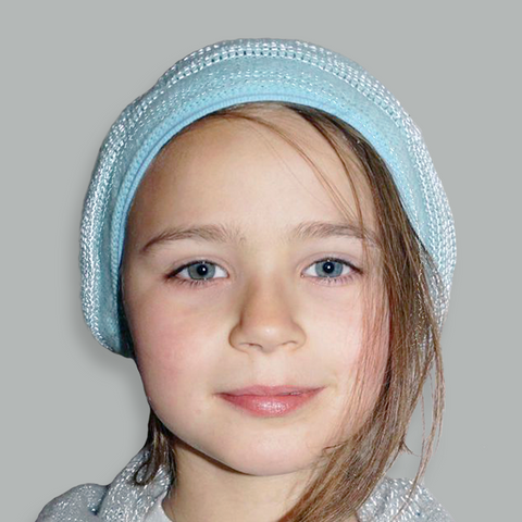 Ready to ship - Reflective - Kids Woolly Hat & Helmet Cover