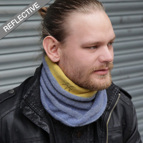 His Twisted Wool Snood