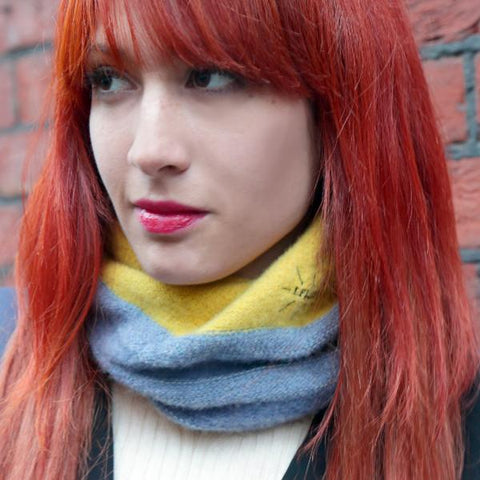 Ready to ship - Reflective - Adult Wool Snood