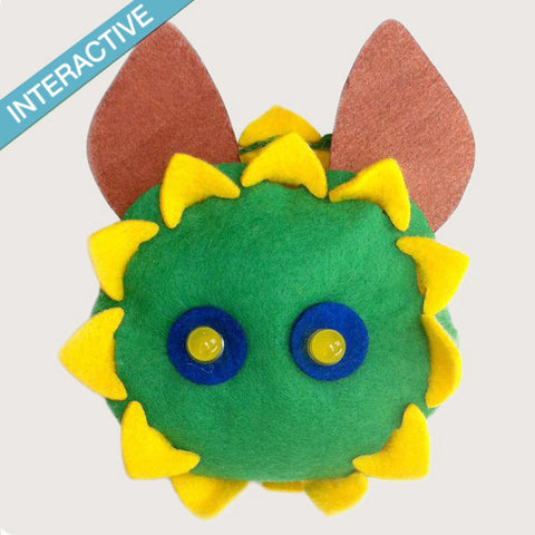 Learn Electronics - The Smart Ears Sunflower