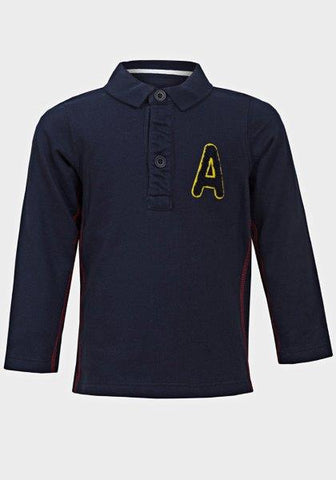 Baby Boys' Long Sleeve Polo Shirt - Oasislync