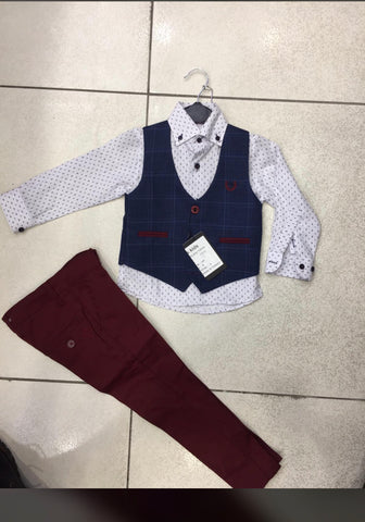 Boys 3 Piece Formal Wear - Oasislync