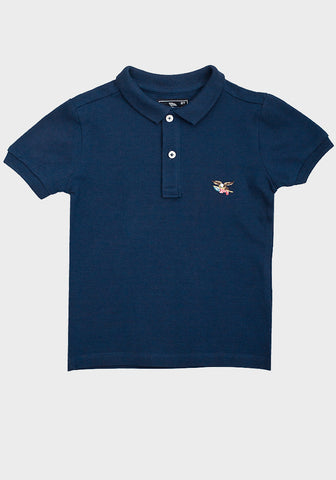 American Living Boys' Navy Blue Polo Shirt - Oasislync