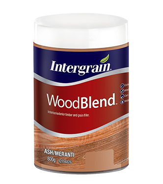 Intergrain - Woodblend Interior/Exterior Timber & Grain Filler