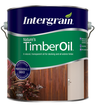 Intergrain - Natural Timber Oil