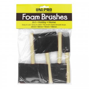 Foam Brush 4 pce set
