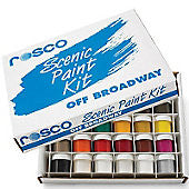 Rosco - Off Broadway Scenic Paint - Test Kit