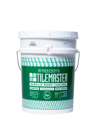Tilemaster - Acrylic Roof Coating