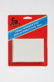 100mm Trimmer Pad Replacement 2pk