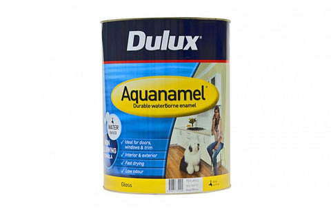 Dulux Aquanamel Gloss White - 10L