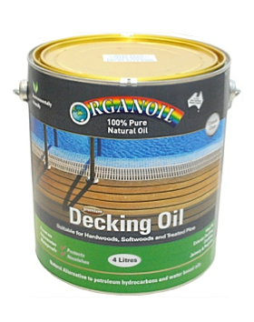 Pure Natural Decking Oil - UV Red - Organoil