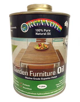 Garden Furniture Oil - Clear - Marine Grade - Organoil