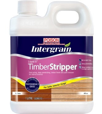 Intergrain - Liquid 8 Timber Stripper