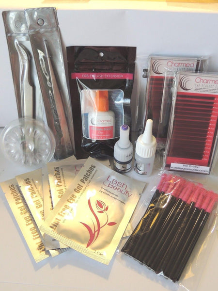 Charmed Deluxe Sample Eyelash Extension Kit - Charmed Lashes