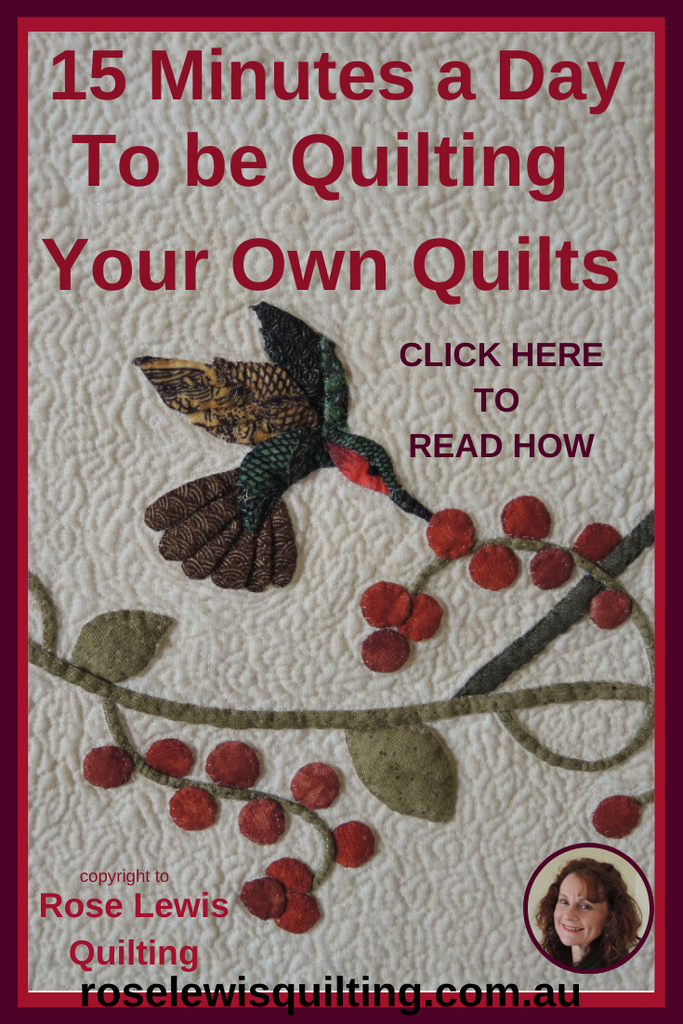 How to Easily Learn to Quilt, so you can Quilt Your Own Quilts