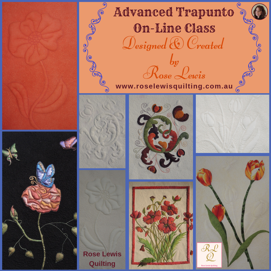 Trapunto is So Much Easier than you may Ever have Imagined!