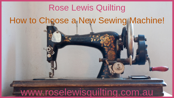 How to Choose a New Sewing Machine that Suits Your personal Type of Sewing?