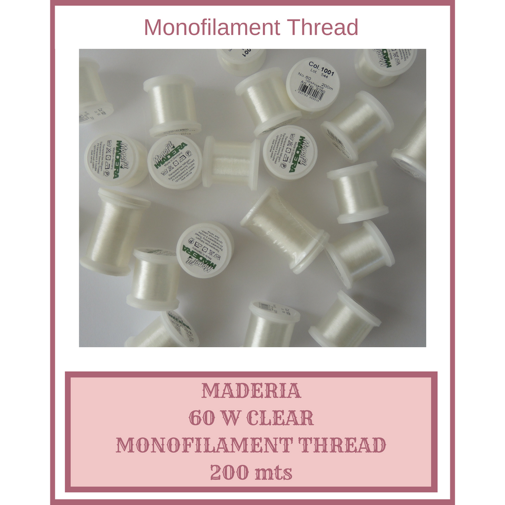 Monofilament Thread, Do you Love it, or Do you live in Fear of it?