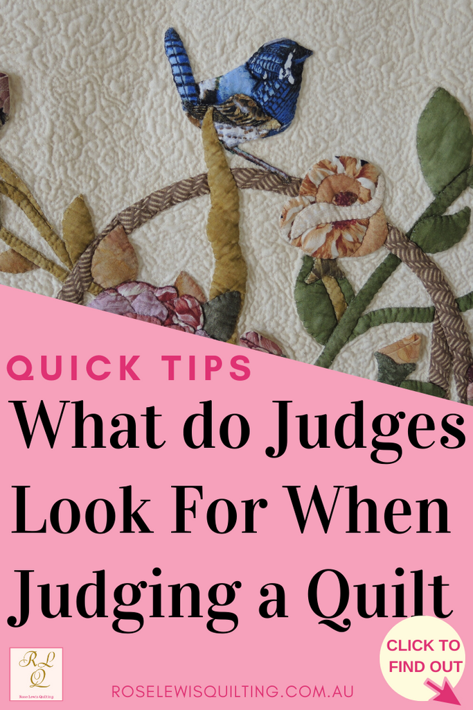 What Do Judges Look For When Judging a Quilt?