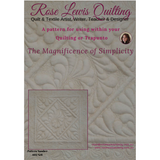 """The Magnificence of Simplicity"" Quilting & Trapunto Patterns"