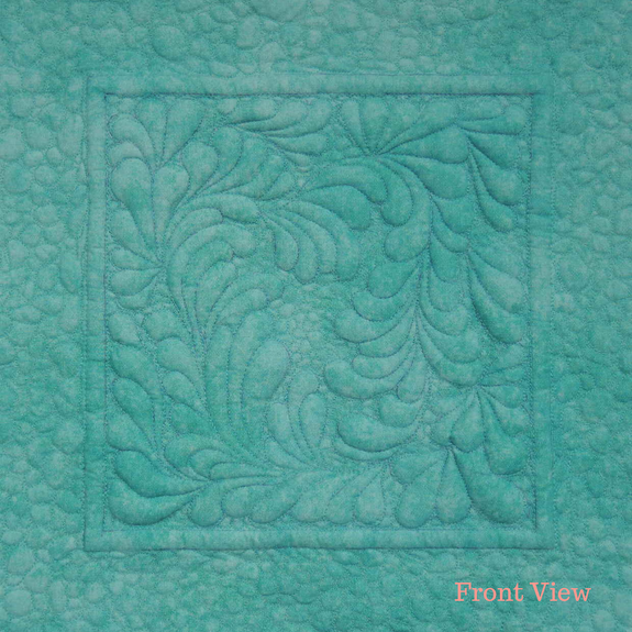 """Feathers N Pebbles"" Quilting & Trapunto Pattern"