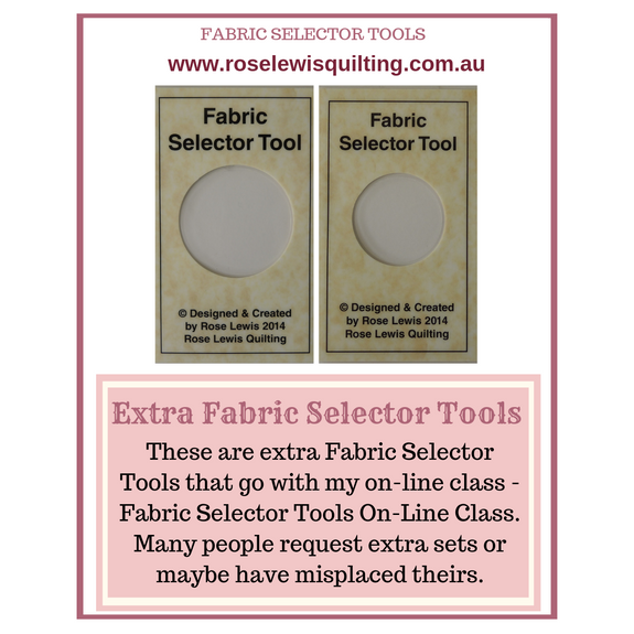 Fabric Selector Tools - Extra