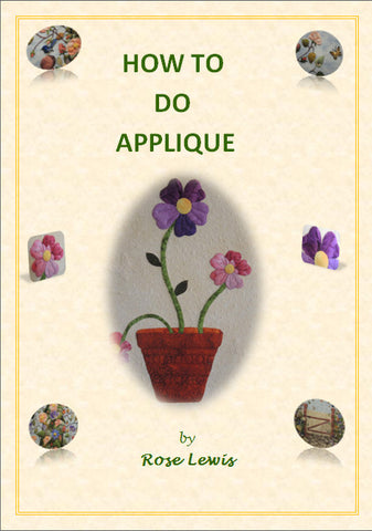 How to Do Applique e-book